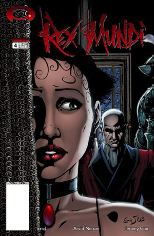 Rex Mundi Image Comics Issue 4 front cover